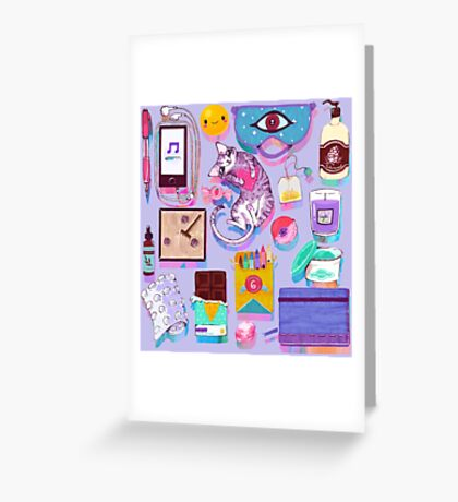 Stress-Relief Kit Greeting Card