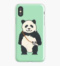 8-bit Panda iPhone Case/Skin