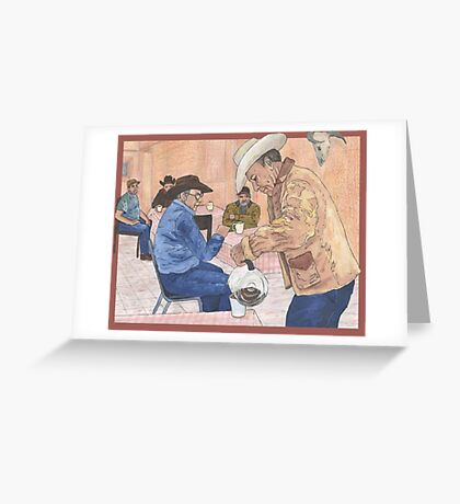 Hit The Trail Greeting Card