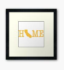 Home - Calfornia Framed Print