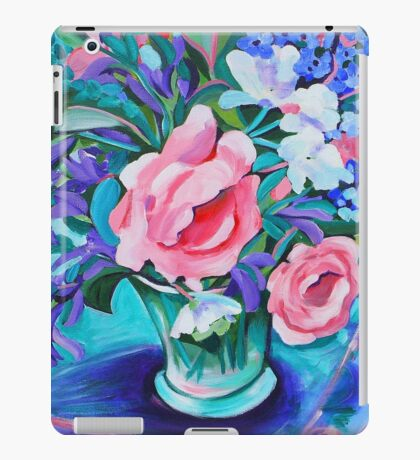 Rose still life iPad Case/Skin