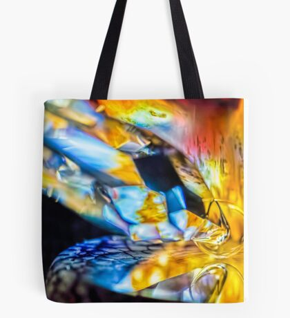 Walking in the River Tote Bag