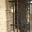 Gate, Light & Wall by Jane McDougall
