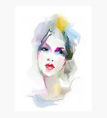 Young woman portrait  Photographic Print