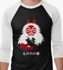 Princess Mononoke - Hayao Miyazaki - Studio Ghibli Men's Baseball ¾ T-Shirt