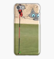 Golfing Kitty iPhone Case/Skin