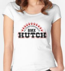 Hutch BMX Women's Fitted Scoop T-Shirt