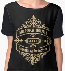 Consulting Detective Women's Chiffon Top