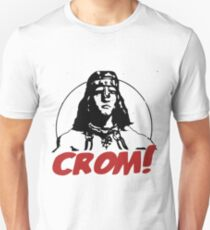 CROM ! Unkind god of the Barbarians T-Shirt