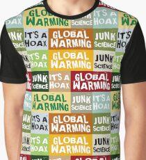 Global Warming Hoax Graphic T-Shirt