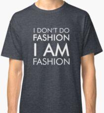 Funny Humor Shopping I Am Fashion Novelty Joke Classic T-Shirt