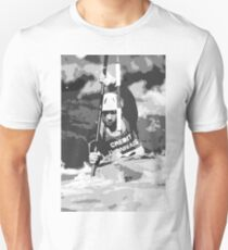 Physical exertion in canoeing  5 (n&b)(h) transformed how Picasso painting T-Shirt