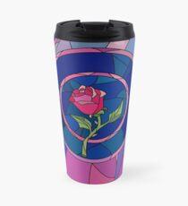 Glass Rose Travel Mug