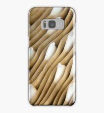 White caps Samsung Galaxy Case/Skin