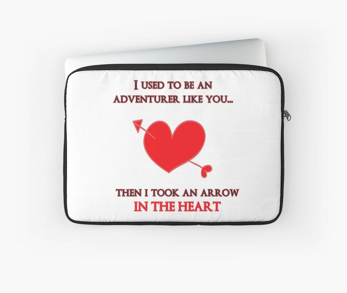 Nerd Valentine - Arrow in the heart by hinomaru17