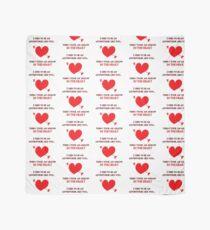 Nerd Valentine - Arrow in the heart Scarf