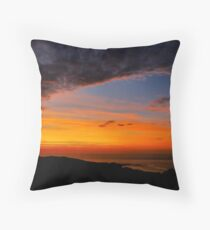 Sunset over the Atlantic - Glencolmcille, Ireland Throw Pillow
