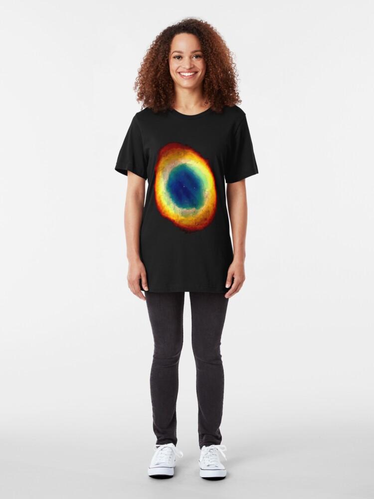 Alternate view of Ring Nebulae  Slim Fit T-Shirt