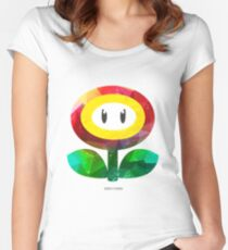 SUPER EVIL FIREFLY - by Mien Wayne Women's Fitted Scoop T-Shirt