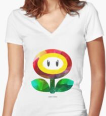 SUPER EVIL FIREFLY - by Mien Wayne Women's Fitted V-Neck T-Shirt