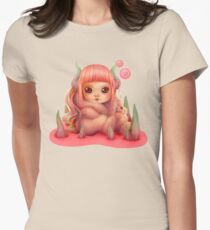 Candy Womens Fitted T-Shirt