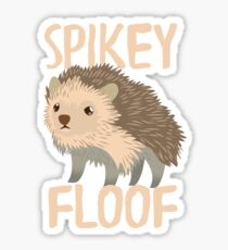 SPIKEY FLOOF (Hedgehog) Sticker