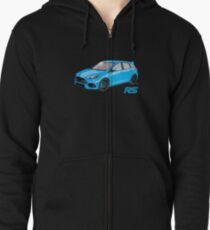 Ford Focus RS 2016 Zipped Hoodie