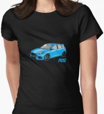 Ford Focus RS 2016 Women's Fitted T-Shirt