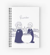 Ravenclaw girls Spiral Notebook