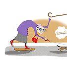 Kazart Super Granny by Kaz Sagovac