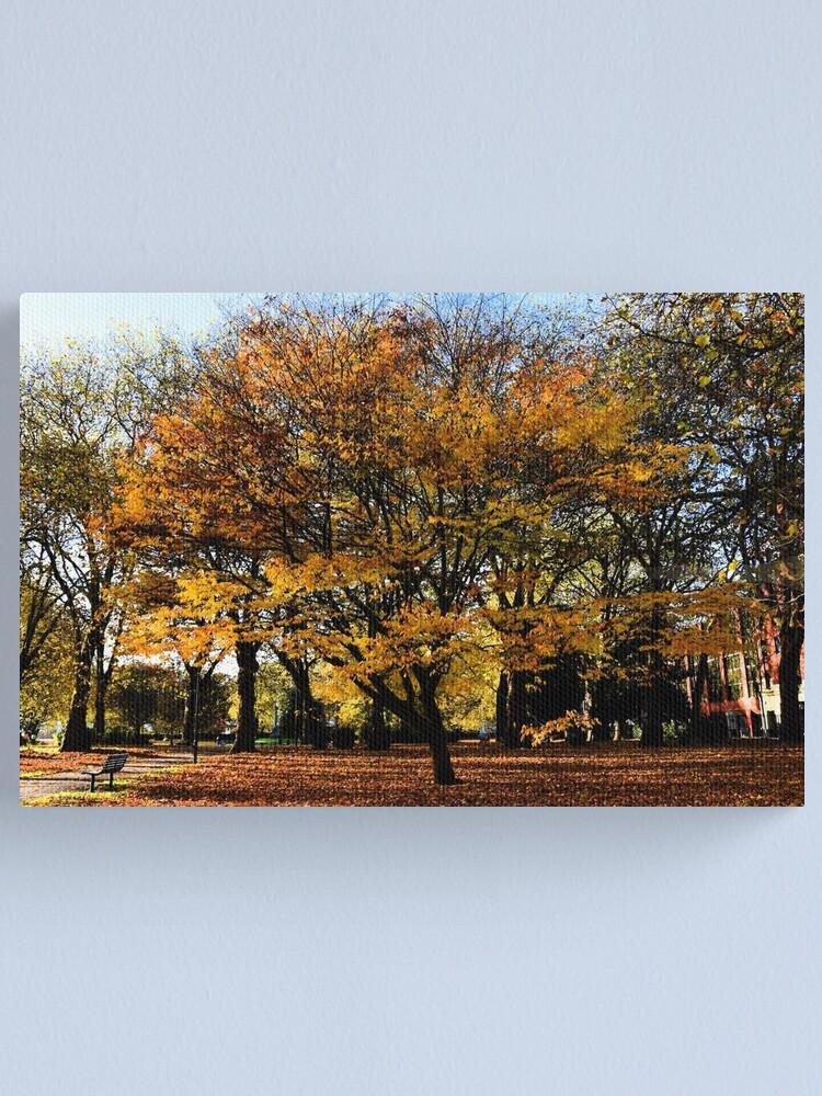Alternate view of Autumnal scene Canvas Print