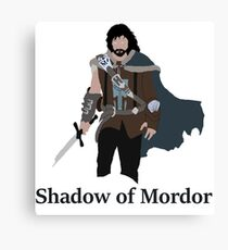 Talion, the shadow of Mordor Canvas Print