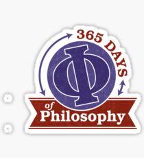365 Days of Philosophy Sticker