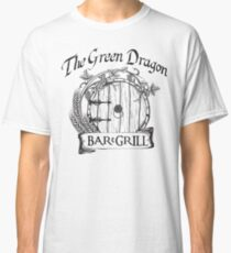 The Hobbit Green Dragon Bar & Grill Shirt T-Shirt Classic T-Shirt