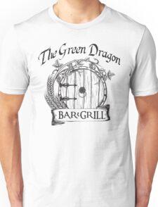 The Hobbit Green Dragon Bar & Grill Shirt T-Shirt Unisex T-Shirt