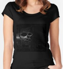 Floating Face Women's Fitted Scoop T-Shirt