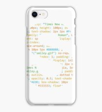CSS iPhone Case/Skin