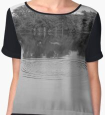water ripples  Women's Chiffon Top