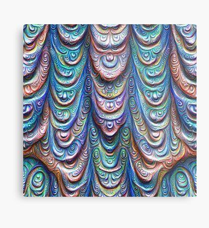 Frozen liquid Impression #DeepDream #Art Metal Print