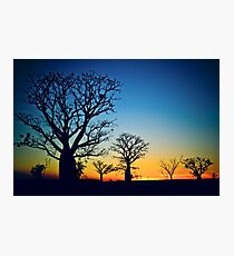 Sunset Sky Photographic Print