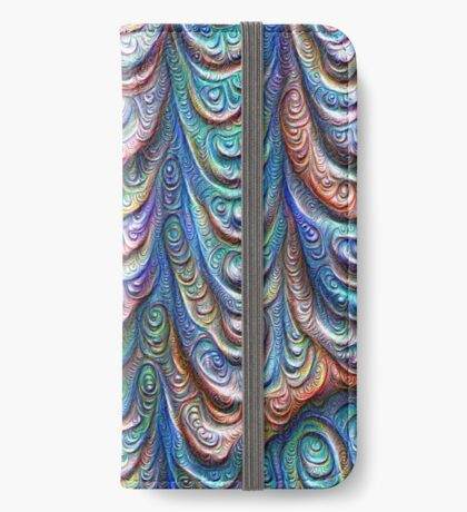 Frozen liquid Impression #DeepDream #Art iPhone Wallet