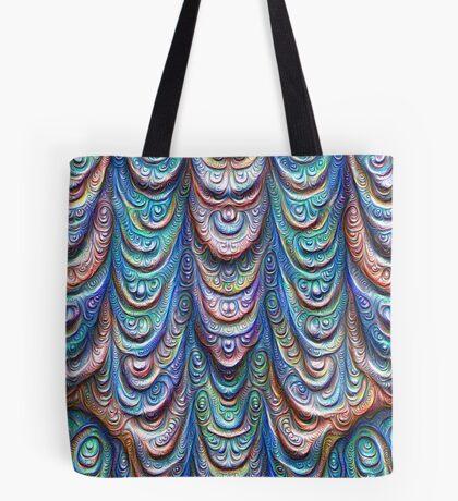 Frozen liquid Impression #DeepDream #Art Tote Bag