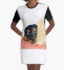 Paisley Graphic T-Shirt Dress