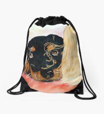 Paisley Drawstring Bag