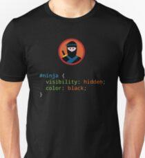 CSS Pun - Ninja Unisex T-Shirt