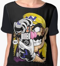 THE KILLING WARIO Women's Chiffon Top