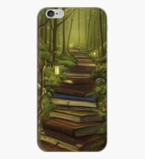 The Reader's Path iPhone Case