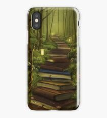 The Reader's Path iPhone Case/Skin