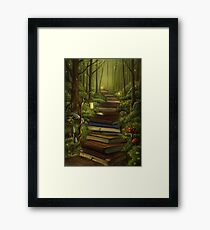 The Reader's Path Framed Print