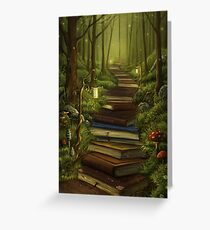 The Reader's Path Greeting Card